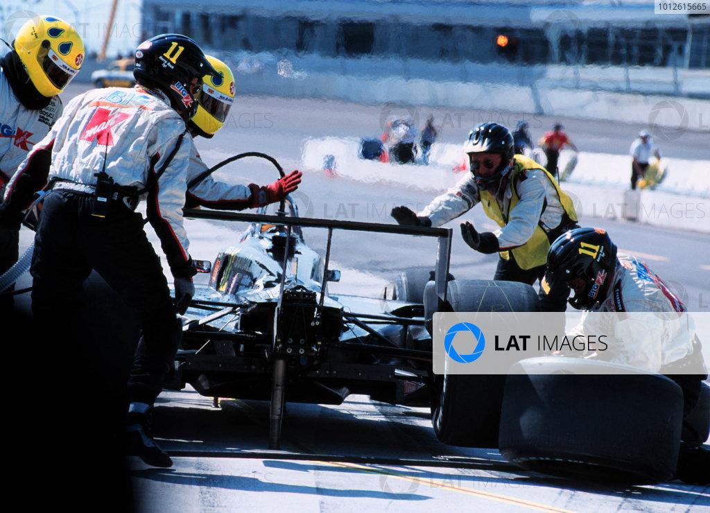 1999 CART Chicago GP, 22/8/99Moreno Pits-1999, Michael L. Levitt, USALAT PHOTOGRAPHIC