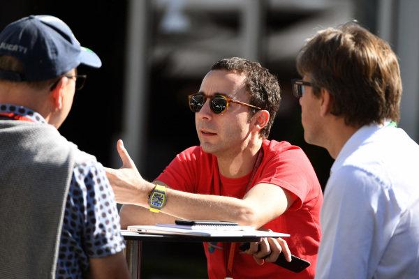 Nicolas Todt (FRA) Driver Manager at Formula One World Championship, Rd1, Australian Grand Prix, Practice, Albert Park, Melbourne, Australia, Friday 24 March 2017.