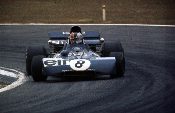 1972 Belgian Grand Prix.Nivelles-Baulers, Belgium.2-4 June 1972.Francois Cevert (Tyrrell 002 Ford) 2nd position.World Copyright - LAT Photographic