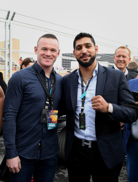 Wayne Rooney, footballer and Amir Khan, boxer