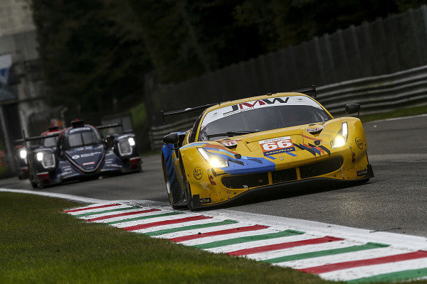 #66 Ferrari 488 GTE Evo / JMW MOTORSPORT / Gunnar Jeannette / Rodrigo Sales / Finlay Hutchison