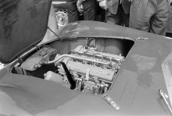 The OSCA engine used in OSCA Automobili's OSCA Sport 750s.