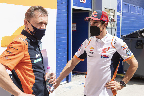 Mike Leitner, Red Bull KTM Factory Racing, Marc Marquez, Repsol Honda Team.