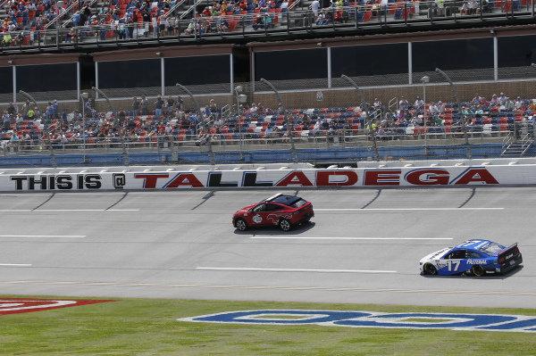 #17: Chris Buescher, Roush Fenway Racing, Ford Mustang Fastenal, Ford Mustang Mach-E Pace Car