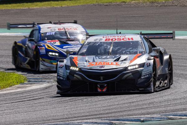 GT500 Winners Naoki Yamamoto & Tadasuke Makino, Stanley Team Kunimitsu, Honda NSX-GT GT500