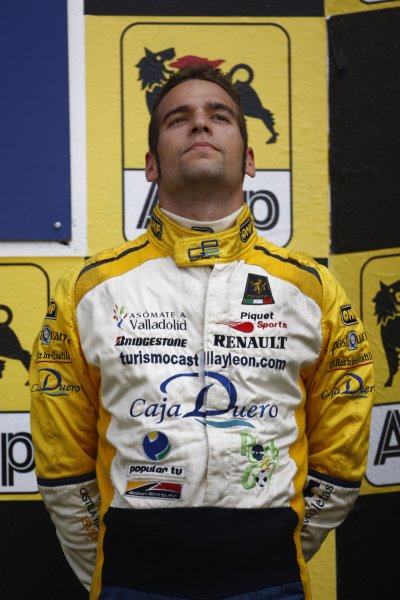 2007 GP2 Series. Round 7.Hungaroring, Budapest, Hungary 5th August 2007. Sunday Race.Roldan Rodriguez (ESP, Minardi Piquet Sports). World Copyright: Andrew Ferraro/GP2 Series Media Service.ref: Digital Image_H0Y1132