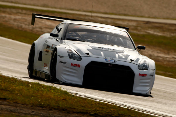Nurburgring, Germany. 17 - 19th May 2012.Benji Hetherington/Freddie Hetherington Nissan GTR GT3.World Copyright: Ebrey/LAT Photographic.