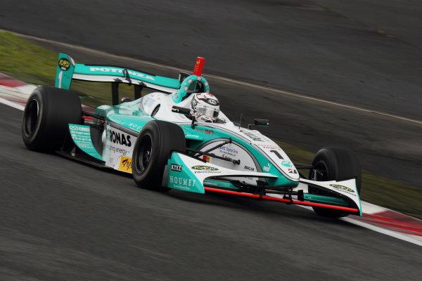 Fuji Speedway, Japan. 15th July 2012.Winner Andre Lotterer ( #1 PETRONAS TEAM TOM'S ), 1st position. Action.World Copyright: Yasushi Ishihara/LAT Photographicref: Digital Image 2012FN_Rd4_003