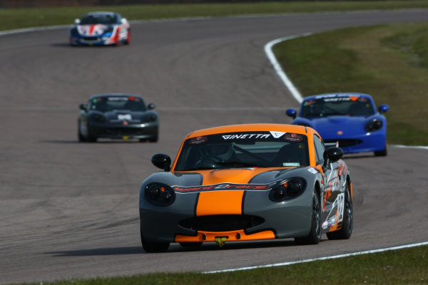 Ginetta Racing Drivers Club, Rockingham, England, 30th April-1st May 2016. Phil Ingram (GBR)  World Copyright: Ebrey / LAT Photographic