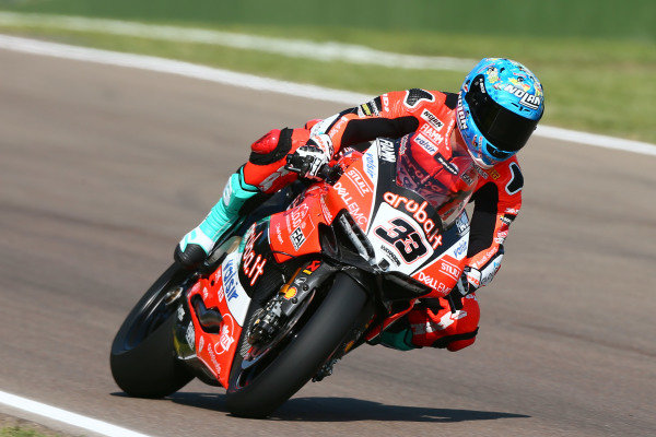Marco Melandri, Aruba.it Racing-Ducati SBK Team.