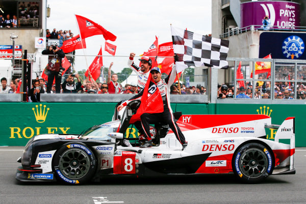 The best from the trackside team on the front lines of all the action as Toyota dominated.