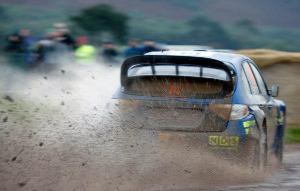 Round 12Rally Great Britain 22nd - 25th October 2009Mads Ostberg, Subaru, ActionWorldwide Copyright: McKlein/LAT