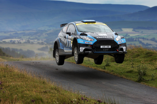 2017 British Rally Championship, Nicky Grist Stages, 8th-9th Juy 2017, Jamie Anderson / Ross Whittock Ford Fiesta R5 World copyright. JEP/LAT Images