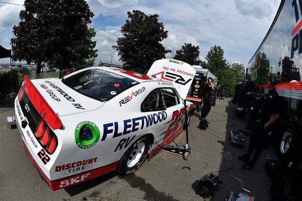 NASCAR XFINITY Series Zippo 200 at The Glen Watkins Glen International, Watkins Glen, NY USA Friday 4 August 2017 Brad Keselowski, REV/Fleetwood Ford Mustang World Copyright: Rusty Jarrett LAT Images