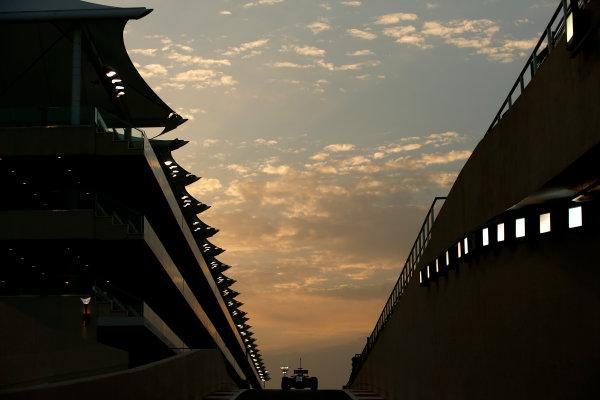 Yas Marina Circuit, Abu Dhabi, United Arab Emirates. Tuesday 25 November 2014. Jolyon Palmer, Force India VJM07 Mercedes.  World Copyright: Glenn Dunbar/LAT Photographic. ref: Digital Image _W2Q7945