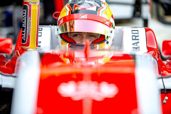 2016 GP3 Series Round 9.  Yas Marina Circuit, Abu Dhabi, United Arab Emirates. Sunday 27 November 2016. Charles Leclerc (FRA, ART Grand Prix)  Photo: Zak Mauger/GP3 Series Media Service. ref: Digital Image _L0U1301