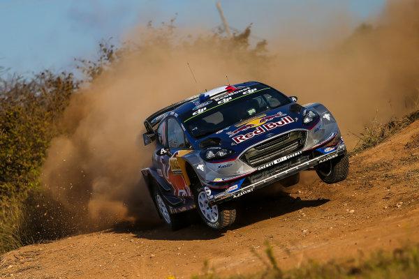 2017 FIA World Rally Championship, Round 11, Rally RACC Catalunya / Rally de España, 5-8 October, 2017, Sebastien Ogier, Ford, action, Worldwide Copyright: LAT/McKlein