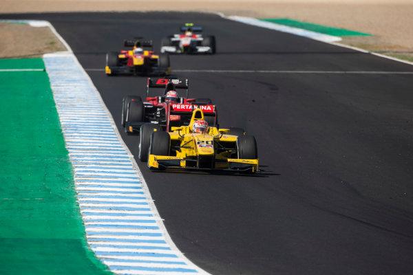 2017 FIA Formula 2 Round 10. Circuito de Jerez, Jerez, Spain. Saturday 7 October 2017. Norman Nato (FRA, Pertamina Arden).  Photo: Andrew Ferraro/FIA Formula 2. ref: Digital Image _FER1972