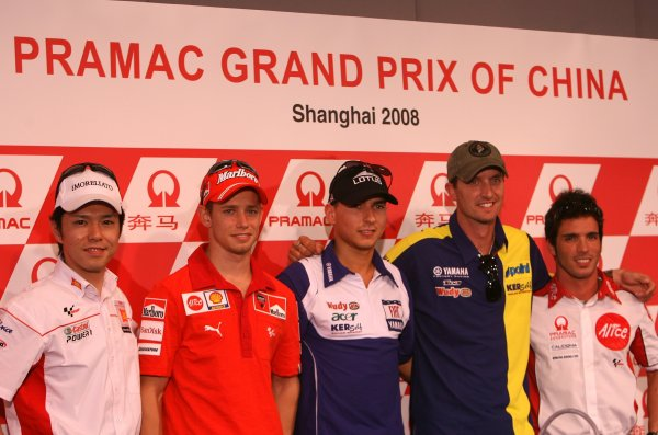 2008 Moto GP Championship.