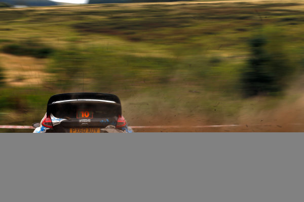 Round 10- Wales Rally GB 12-16/9- 2012.Mads Ostberg, Ford WRC, Action.Worldwide Copyright: McKlein/LAT