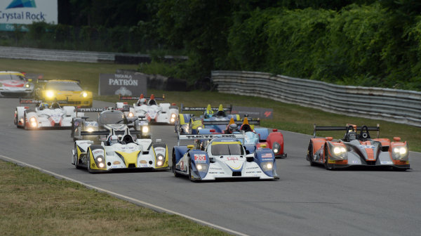 6-7 July, 2012, Lakeville, Connecticut USA#20 Dyson Racing Lola B11/66 heads field down front straight(c)2012 Dan R. Boyd LAT Photo USA