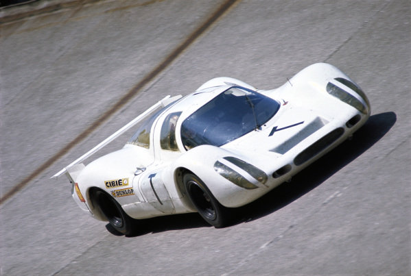 Jo Siffert, Porsche P908L 024 #T, during the practice session.