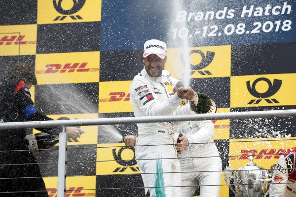 Podium: Gary Paffett, Mercedes-AMG Team HWA.