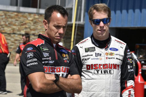 #2: Brad Keselowski, Team Penske, Ford Mustang Discount Tire and Paul Wolfe