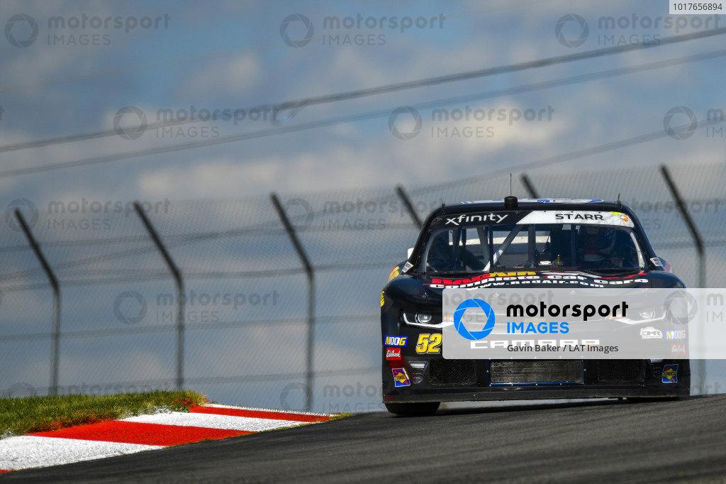 #52: David Starr, Means Motorsports, Chevrolet Camaro RAD AIR COMPLETE CAR CARE
