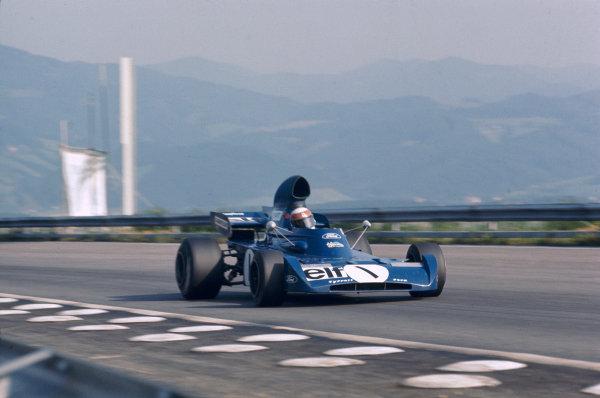 1972 Austrian Grand Prix.Osterreichring, Zeltweg, Austria.11-13 August 1972.Jackie Stewart (Tyrrell 005 Ford) 7th position.Ref-72 AUT 01.World Copyright - LAT Photographic