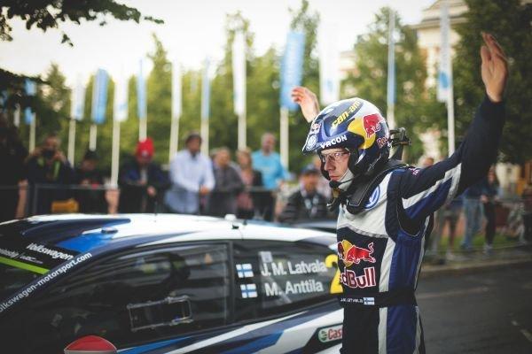 Jari-Matti Latvala (FIN) Volkswagen Polo R WRC at FIA World Rally Championship, R8, Neste Oil Rally Finland, Day One, Jyvaskyla, Finland, Friday 31 July 2015.