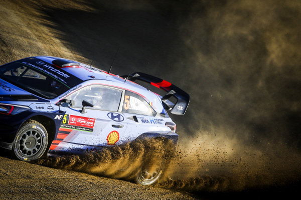 Thierry Neuville (BEL) / Nicolas Gilsoul (BEL), Hyundai Motorsport i20 Coupe WRC at World Rally Championship, Rd6, Rally Portugal, Preparations and Shakedown, Matosinhos, Portugal, 18 May 2017.