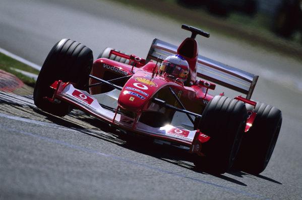 Rubens Barrichello, Ferrari F2003-GA.