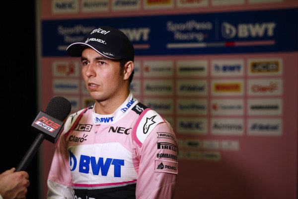 Sergio Perez, SportPesa Racing Point F1 Team during the SportPesa Racing Point F1 Team Launch in Toronto