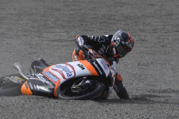 Aron Canet, Max Racing Team crashes