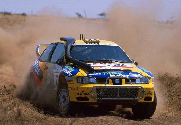 2000 World Rally ChampionshipRound 3, Safari WRC25th - 27th Feb 2000Didier Auriol, action. Seat World Rally Car.Photo: McKleinTel: +44 (0)181 251 3000Fax: +44 (0)181 251 3001Somerset House,Somerset Road,Teddington,Middlesex,TW11 8RUUnited Kingdon.