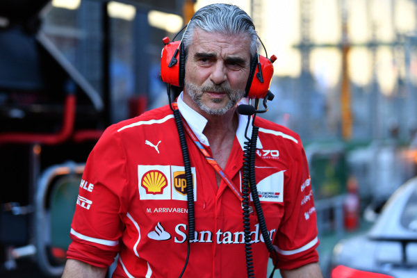 Maurizio Arrivabene (ITA) Ferrari Team Principal at Formula One World Championship, Rd1, Australian Grand Prix, Qualifying, Albert Park, Melbourne, Australia, Saturday 25 March 2017.