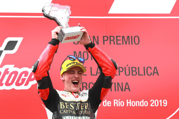 Podium: race winner Jaume Masia, Bester Capital Dubai.