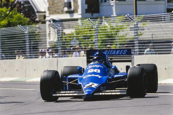 Jacques Laffite, Ligier JS25 Renault.