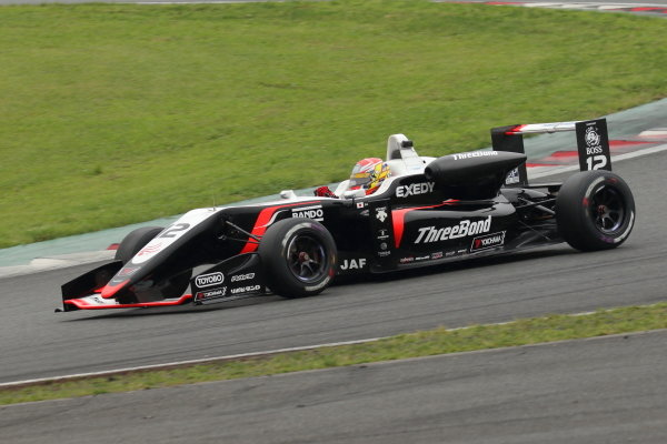 Round 11, Hiroki Otsu, ThreeBond Racing Dallara F318 Threebond Tomei, 2nd position