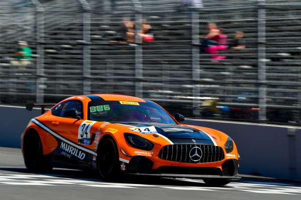 #34 Mercedes-AMG GT4 of Kenny Murillo and Christian Szymczak  Rose Cup Races, Portland OR