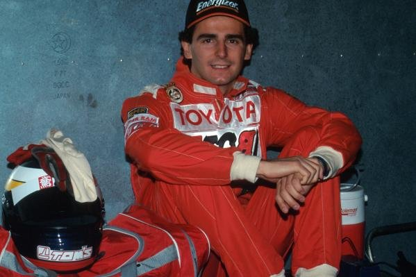 Pedro de la Rosa (ESP) TOM'S Toyota finished third.International Formula Three, Macau Grand Prix, Macau, Hong Kong, 19 November 1995.