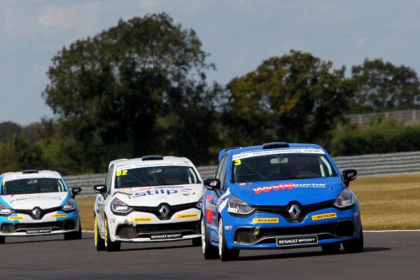 2014 Renault Clio Cup, Snetterton, Norfolk. 1st - 3rd August 2014. James Colburn (GBR) Westbourne Motorsport Renault Clio Cup. World Copyright: Ebrey / LAT Photographic.