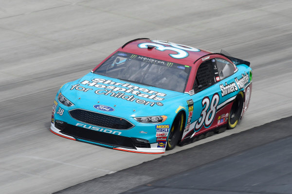 #38: David Ragan, Front Row Motorsports, Ford Fusion Shriners Hospital For Children