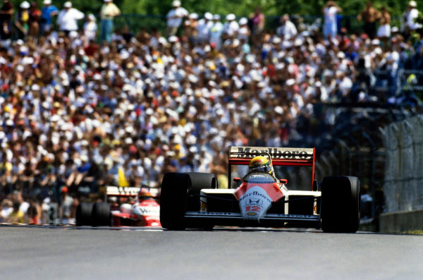 Ayrton Senna, McLaren MP4/4 Honda.
