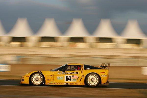 June 13 - 19, 2005, Le Mans, FranceOliver Gavin in the Corvette Copyright 2005, Richard Dole, LAT Photographic