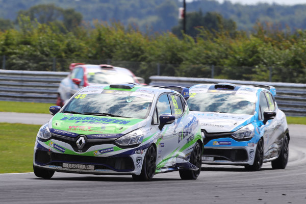 2017 Renault Clio Cup, Snetterton. 29th-30th July 2017, Dan Zelos (GBR) WDE Motorsport Renault Clio Cup World copyright. JEP/LAT Photographic