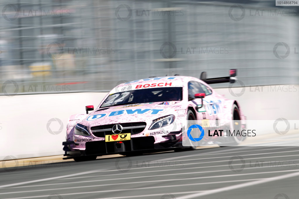 2017 DTM Round 4 Norisring, Nuremburg, Germany Friday 30 June 2017. Lucas Auer, Mercedes-AMG Team HWA, Mercedes-AMG C63 DTM World Copyright: Alexander Trienitz/LAT Images ref: Digital Image 2017-DTM-R3-NOR-AT1-0468