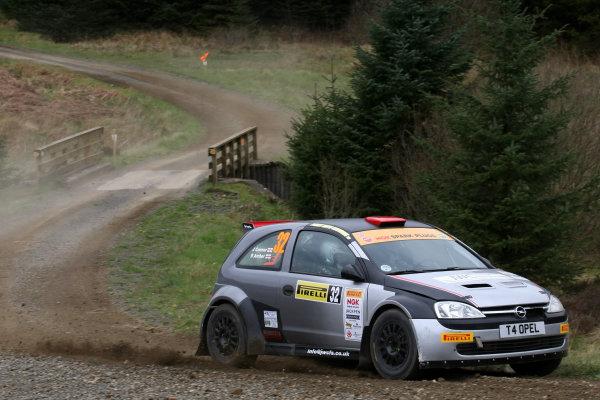 2014 MSA British Rally Championship, Pirelli Carlisle R B Foundation Rally. 3rd - 4th May 2014. Richard Archer / John Connor Opel Corsa. World Copyright: Ebrey / LAT Photographic.