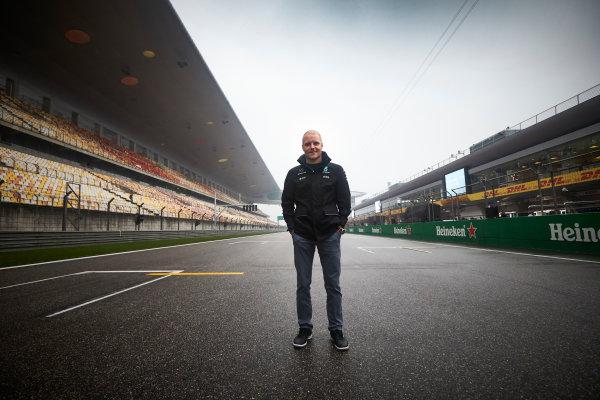 Shanghai International Circuit, Shanghai, China.  Thursday 6 April 2017. Valtteri Bottas, Mercedes AMG. World Copyright: Steve Etherington/LAT Images ref: Digital Image SNE16064